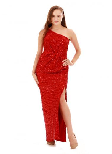 6ixty8ight Abiye Elbise Kırmızı